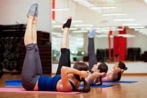 Pilates class Sara Pugh
